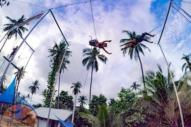 Private Flying Trapeze Class on Koh Tao, Thailand