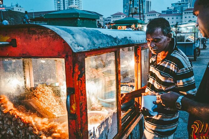 Sri Lankan Street Food Tour from Colombo