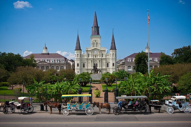Private Walking Tour of New Orleans with licensed tour guide