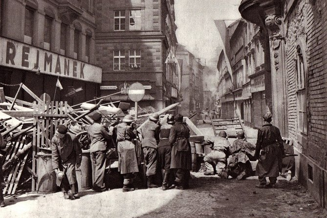 Tour de la segunda guerra mundial en Praga
