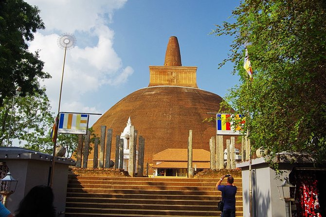 Day tour in Sacred city of Anuradhapura including Mihintale from Habarana