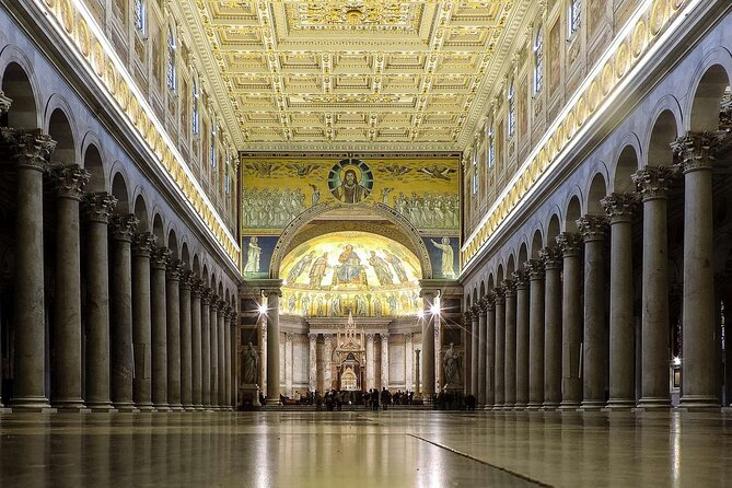 Private Tour: Holy Churches of Rome with private chauffeur