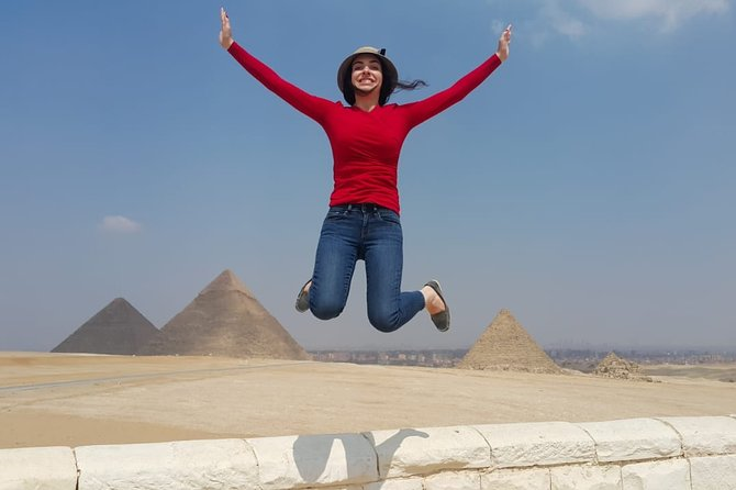 Cairo : 4 Sites Private Guided tour To Dahshur, Sakkara, Memphis & Giza Pyramids