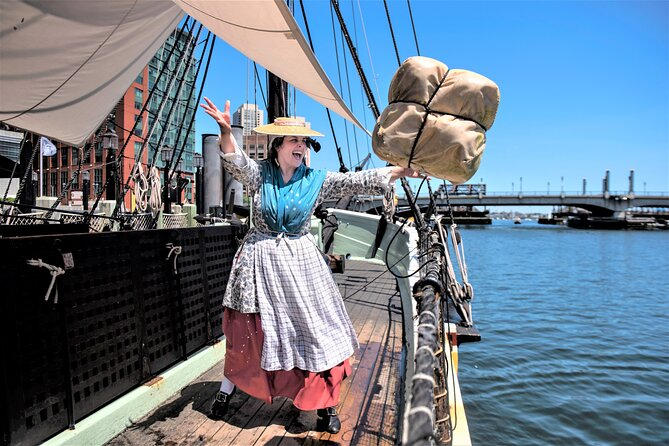 Toegang tot Boston Tea Party-schepen en -museum