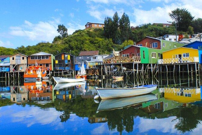 North Chiloe Island from Puerto Montt