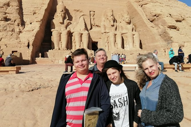 Aswan : 3-Days GUIDED Tours to Aswan, Abu Simbel and Luxor & All Transfers