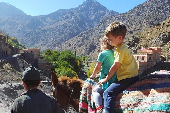 Family Day Trip from Marrakech Atlas Mountains & Three valleys with Camel Ride