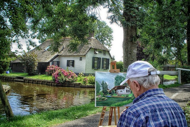 Private Day Trip Tour to Giethoorn from Amsterdam with a local