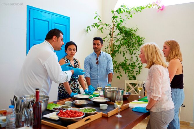 Santorini Cooking Class and Wine Tasting