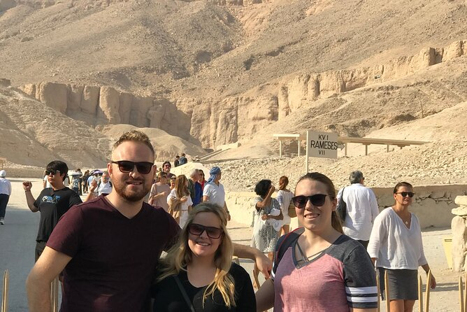 Private Guided Tour To The Valley of the Kings and Habu Temple From Luxor