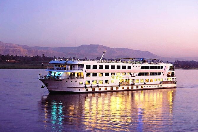 Cairo : 3 Nights Nile Cruise Aswan to Luxor By Sleeper train Round Trip