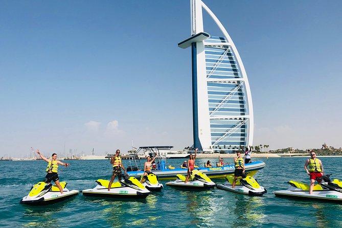 30 Mins JET SKI Burj al Arab tour and Burj Khalifa, Dowtown Dubai