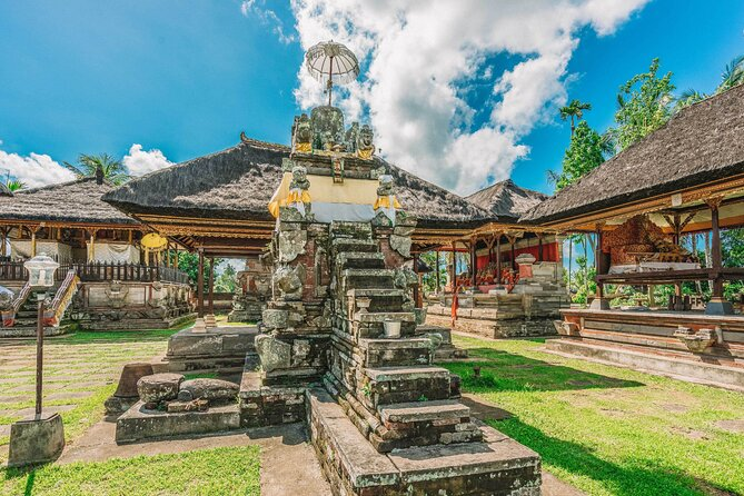Ubud Private Tour: Goa Gajah, Ubud Market, Bali Bird Park – Full Day