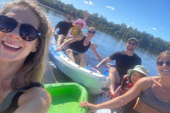 Kayak, eMtn Bike, local vineyard = perfect Hinterland day tour