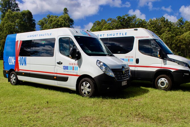 Brisbane Airport Departure transfer From the Gold Coast shared shuttle