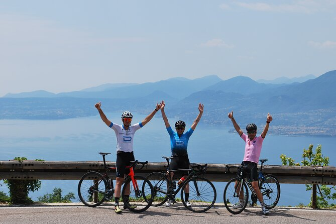 Qualified cycling guides: ride in Garda Lake zone, Valpolicella and Mt. Baldo.