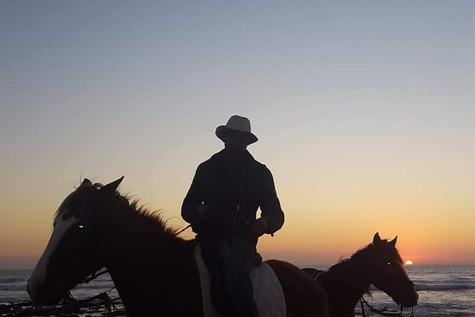 Sunset Horseback Riding in Banana Beach