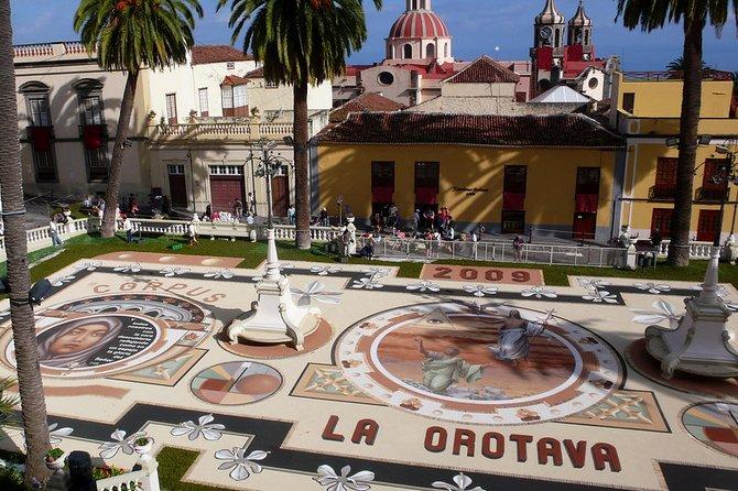 Private 6-hour Tour of La Orotava + Puerto de La Cruz with Hotel pick-up