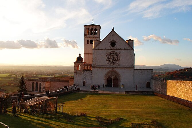 Assisi ShorExcursion Lunch&WineTasting Included from Civitavecchia Cruise Port