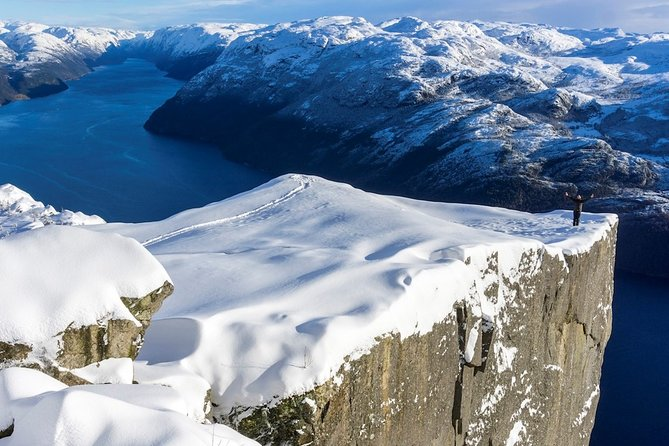 Lysefjord Cruise & Pulpit Rock Guided Hike - Winter Edition