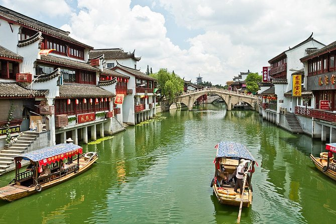 4-Hour Qibao Ancient Water Town Private Tour with Metro Experience