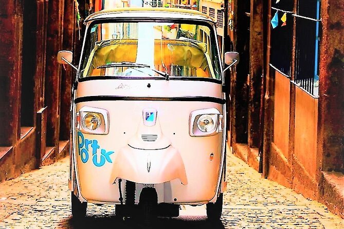 Half Day - Private TukTuk Around Porto - Francesinha Lunch and Port Wine Glass
