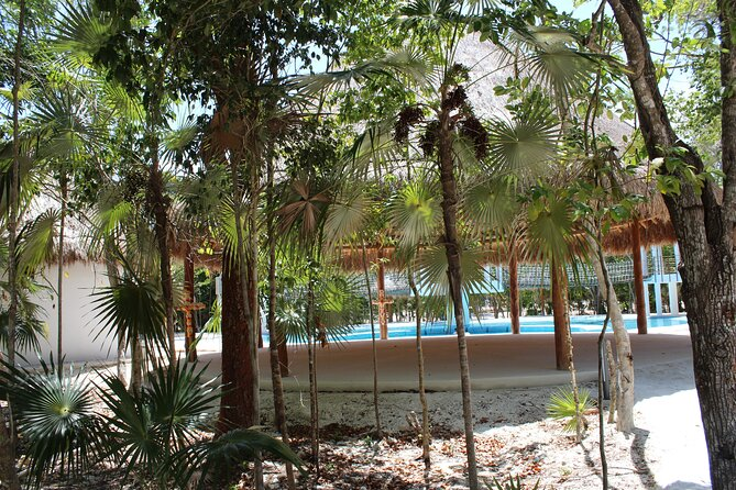 Day Pass private & shallow pool with 3 playgrounds Puerto Morelos