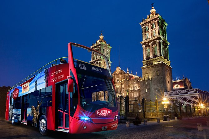 Turibus Hop-on Hop-off City Tour Puebla plus Cable Car or Observation Wheel