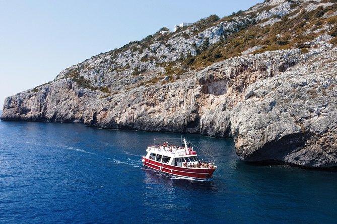 Mini-cruise tour to the Caves of Santa Maria di Leuca
