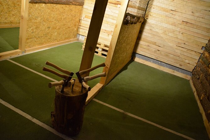 Axe Throwing with Hotel Transfers in Krakow