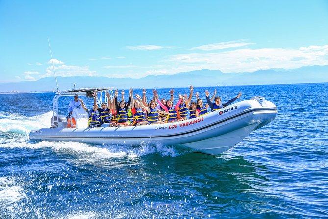 Zip Lines Adventures & Boat ride from Puerto Vallarta with Boat Transportation