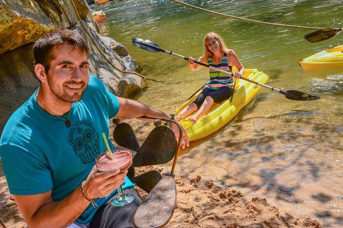 Zip Lines Adventures & Boat ride from Nuevo Vallarta with Road Transportation