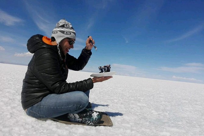 Private Tour To Uyuni Salt Flats with pick up from Hotels in Colchani