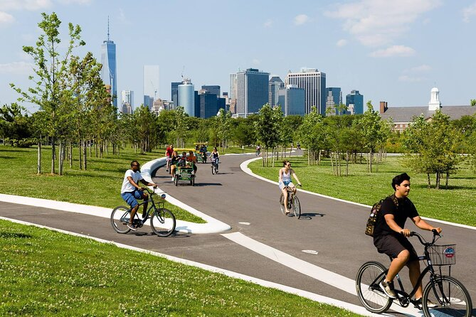 Biking Tour of Governors Island