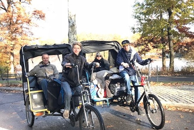 Central Park 2-Hrs Pedicab Tours