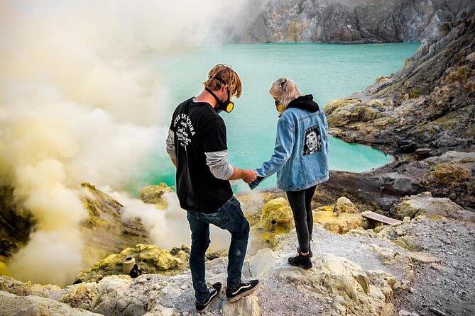 Ijen Crater Blue Fire Tour start from Surabaya or Malang