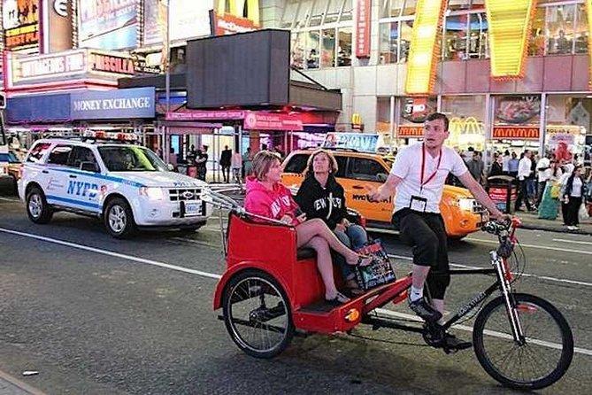 New York: Midtown Pedicab Tours - Sightseeing Rickshaw Tours