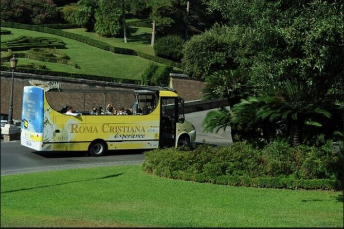 Visit to the Pontifical Villas in Castel Gandolfo by Open Bus