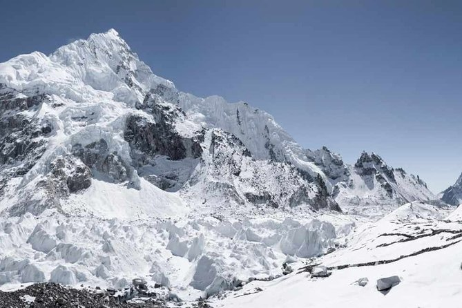 private helicopter everest mountain hike