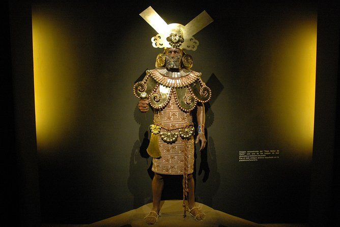 Huaca Rajada (Lord of Sipán) and Site Museum Private Tour