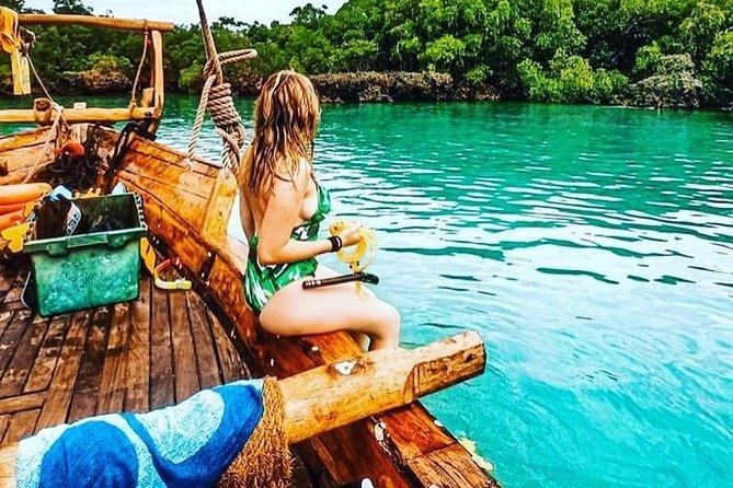 Zanzibar Private Safari Blue Tour: Departure from Kizimkazi Beach