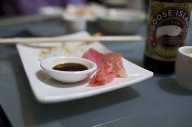 Enjoy Fresh Japanese Sashimi with a Passionate Foodie