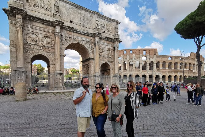 Private Tour of the Colosseum, Forums & Ancient Rome with Skip-the-line Tickets