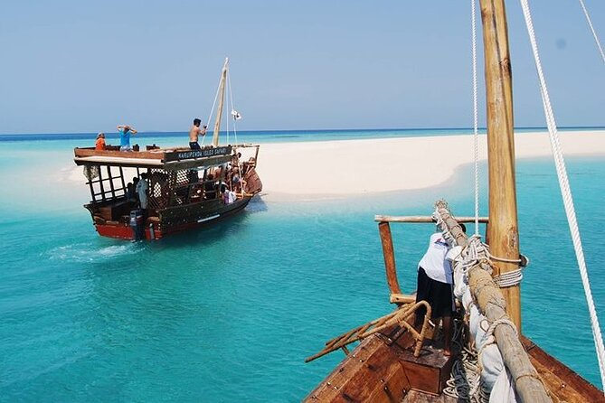 Zanzibar Private Safari Blue Tour: Departure from Matemwe Zanzibar