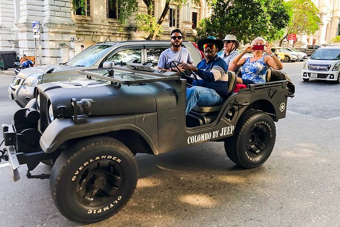 Colombo City Tour by War Jeep from Colombo Port