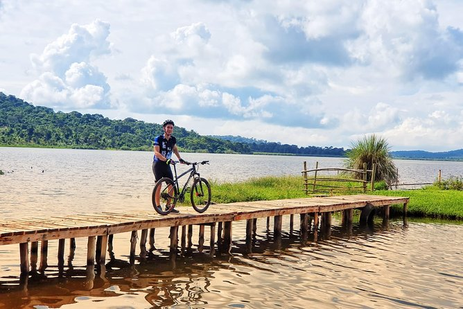 5 days cycling trip across Lake Victoria and Lake Mburo National Park