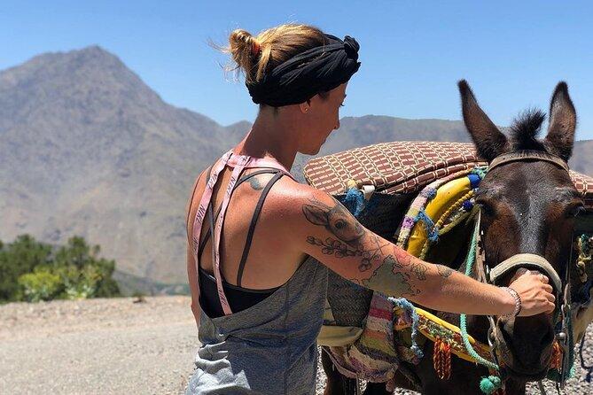 From Marrakech: Imlil to Ouirgane 2 Day Traverse Trek