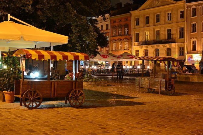 Lviv by Night Walking Tour