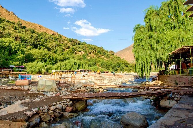 Ourika Valley Guided day Trip From Marrakech Berber Villages and Waterfalls