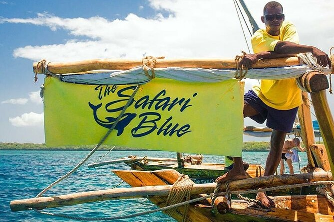 Private Safari Blue Tour: Classic Vasco Da Gama: Departure at Matemwe Zanzibar
